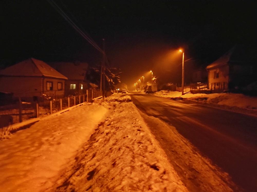 Fotografia vytvorená v noci s nočným režimom