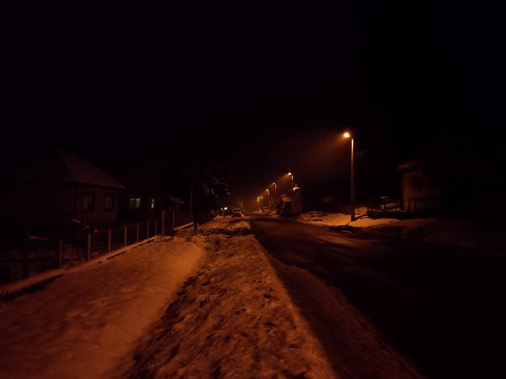 Fotografia vytvorená v noci bez nočného režimu