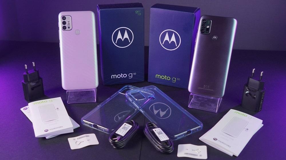 Balenie Motorola Moto G10 a Motorola Moto G30