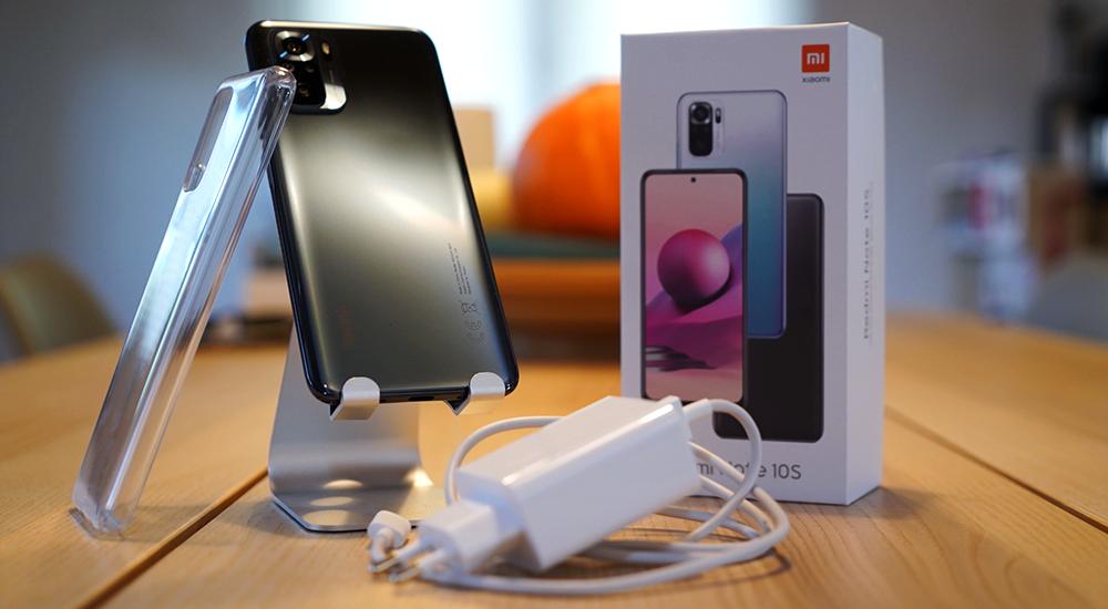 Xiaomi Redmi Note 10S balenie