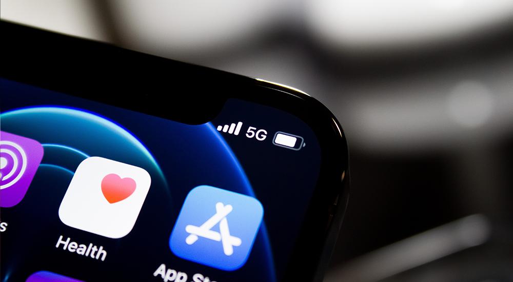 Mobilný telefón s podporou 5G siete