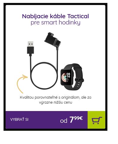 Nabíjacie káble pre smart hodinky Tactical