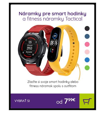Náramky pre smart hodinky a fitness náramky Tactical