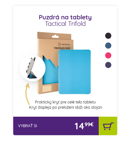 Puzdrá na tablety Tactical Trifold