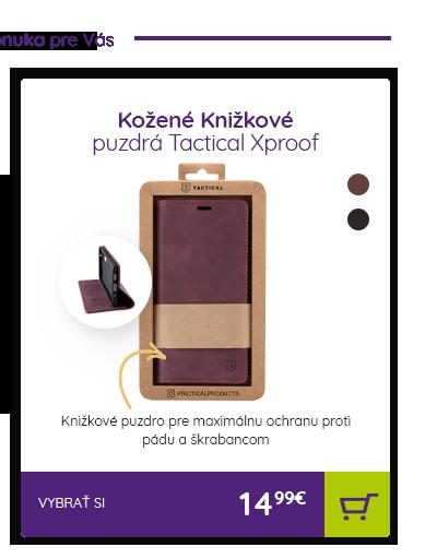 Kožené Knižkové puzdrá Tactical Xproof