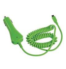 CL autonabíjačka CELLY s konektorom microUSB, 1A, zelená, blister, rozbalené