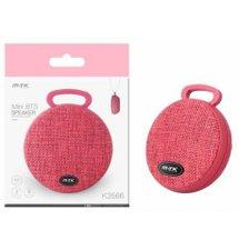 Bluetooth Mini Speaker PLUS K3566 red