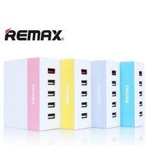 Remax Ming 5U 5x USB HUB Purple