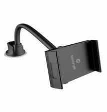 Držiak do auta na tablet SWISSTEN S-GRIP T1-HK - dlhý krk 36cm, max rozpätie 18,5cm (uchytenie sklo, palubovka)