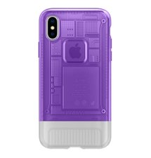 Puzdro Spigen Classic C1 iPhone X/XS Purple (EU Blister)