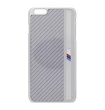 "BMHCP6LMES BMW Signature Aluminium Stripe Silver Zadní Kryt pro iPhone 6 Plus 5.5"""