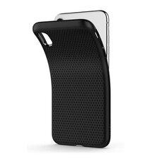 Puzdro Spigen Liquid Air iPhone Xs Max - čierne