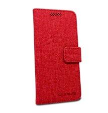Puzdro Swissten Libro Uni Book veľkosť XL - červené (158 x 80mm)