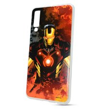 Puzdro Marvel TPU Samsung Galaxy A7 A750 Iron Man vzor 003 (licencia)