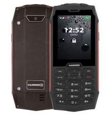 myPhone Hammer 4 Dual SIM, Červený