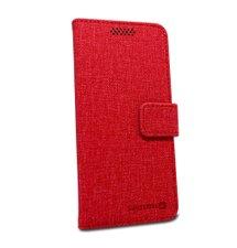 Puzdro Swissten Libro Uni Book veľkosť L - červené (148 x 71mm)