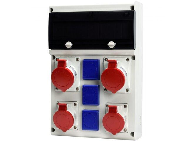 Rozvodnica 5P 2x32A,2x16A,3x250V 632.X3311