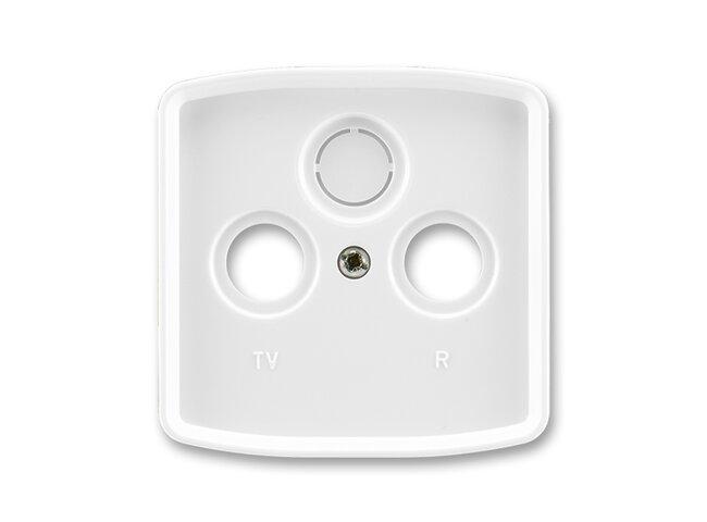 T- kryt zásuvky TV+R/SAT-vylam./ 5011A-A00300 B biely