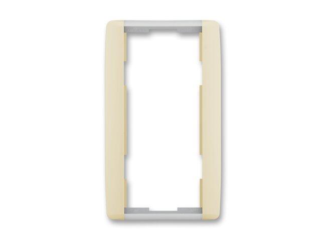 Element-rámček-2 zvislý 3901E-A00121 21 slonová kosť/ľadová biela