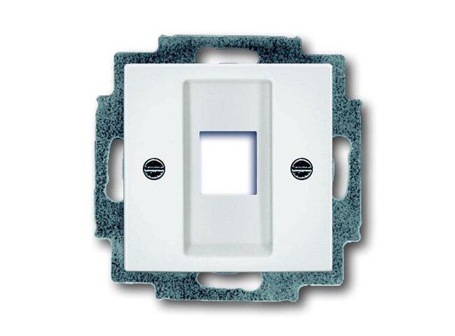 Basic55- kryt komunikačnej zásuvky 1753-0-0213 biely