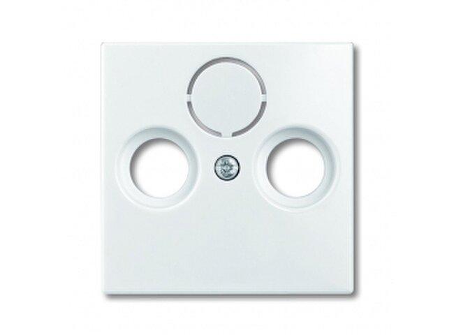 Basic55- kryt zásuvky TV+R+SAT biely 1724-0-4283 (2CKA001724A4283)