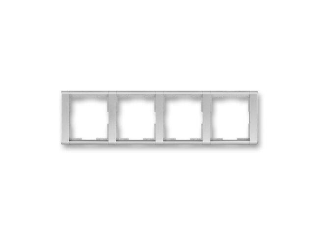 Time-rámček-4 vodorovný 3901F-A00140 08 titanová/titanová