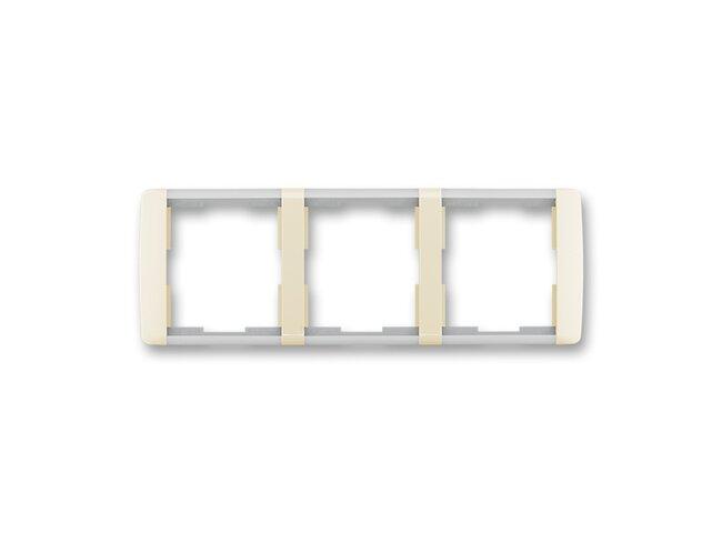 Element-rámček-3 vodorovný 3901E-A00130 21 slonová kosť/ľadová biela
