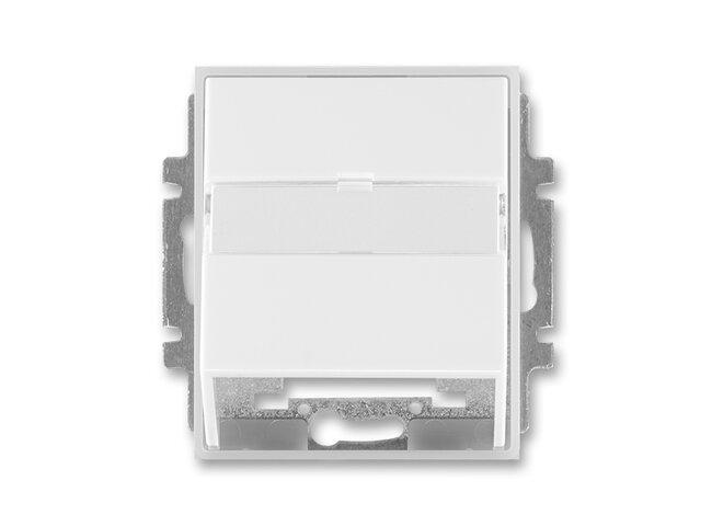 Element-kryt datovej zásuvky 5014E-A00100 01 biela/ľadová biela