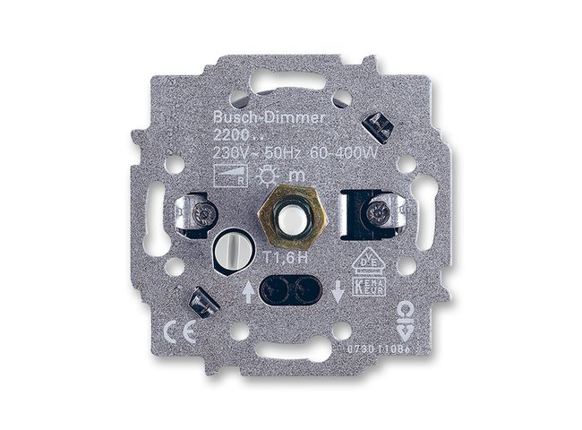 T- strojček stmievača otočného  400W 2CKA006514A0111 pre žiarovky