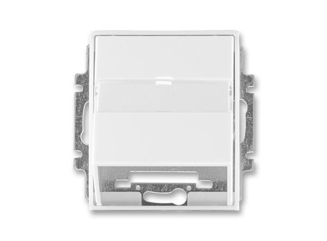 Time-kryt datovej zásuvky 5014E-A00100 03 biela/biela