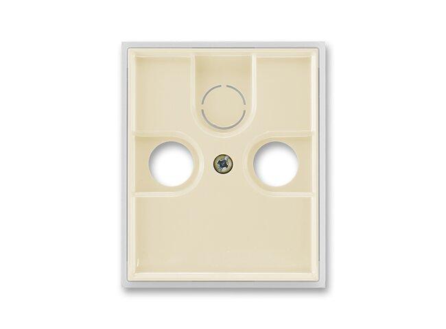 Element-kryt TV+R/SAT-vylamovací/ 5011E-A00300 21 slonová kosť/ľadová biela