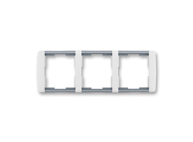 Element-rámček-3 vodorovný 3901E-A00130 04 biela/ľadová šedá