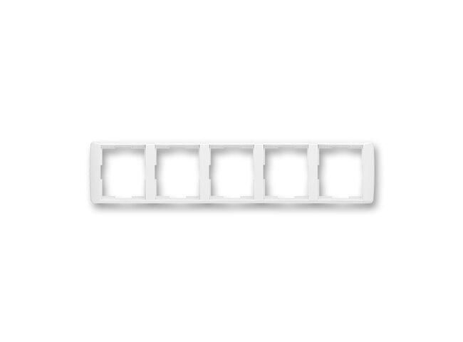 Element-rámček-5 vodorovný 3901E-A00150 03 biela/biela