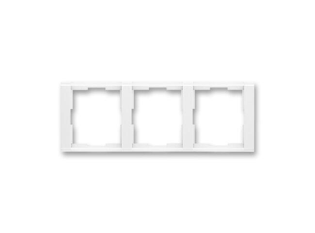 Time-rámček-3 vodorovný 3901F-A00130 03 biela/biela
