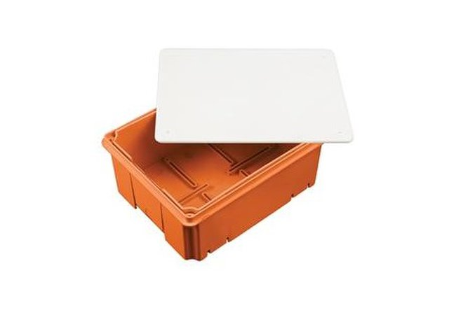 Krabica do zateplenia R.8145 185x140x s nastav. hĺbk. 80-150mm bleskozvod