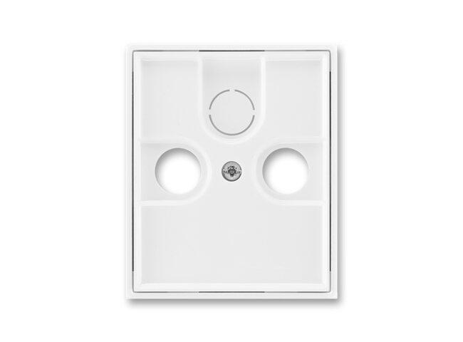 Element-kryt TV+R/SAT-vylamovací/ 5011E-A00300 03 biela/biela