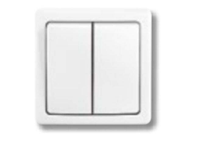 Swing- spínač č.5B 3557G-C52340 B1 jasne biela