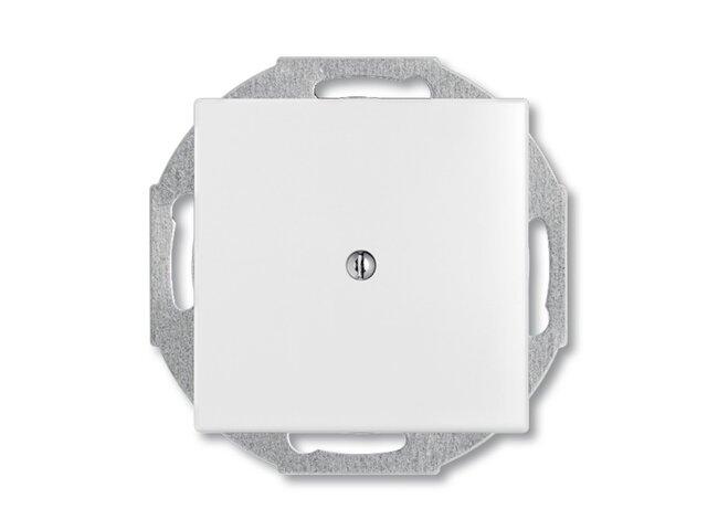 Basic55- kryt zaslepovací 1715-0-0312 biely