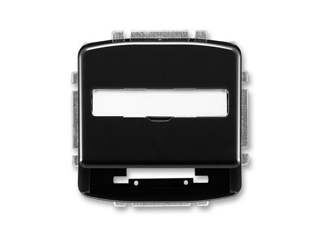 T- kryt datovej zásuvky 5014A-A100N-čierna