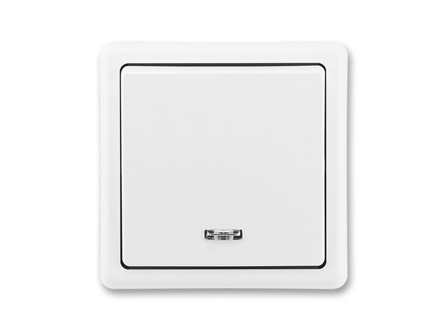 Classic č.6So 3553-27289B1 biely s orientačnou dutnavkou