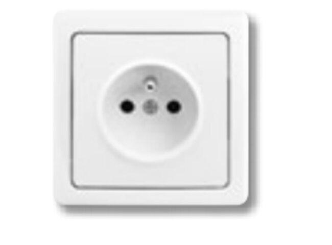 Swing- zásuvka-1 5518G-C02349 B1 jasne biela