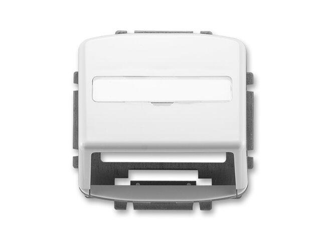 T- kryt datovej zásuvky 5014A-A100B-biela