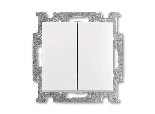 Basic55- spínač č.5  biely 3521B-A0534594