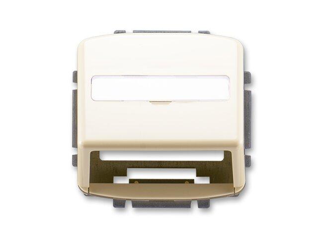 T- kryt datovej zásuvky 5014A-A100C-slonová kosť