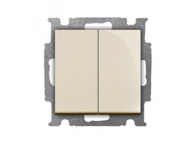 Basic55- spínač č.5B slonová kosť 1012-0-2151