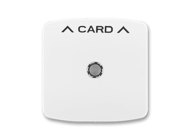 T- kryt spínača kartového, biely  3559A-A00700 B