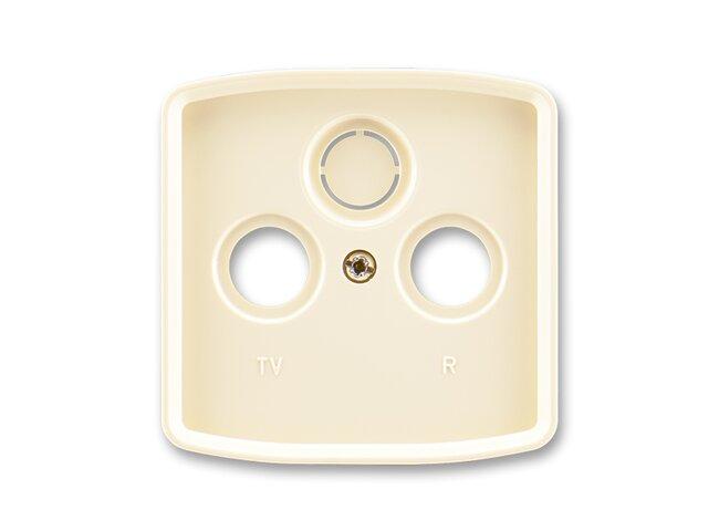 T- kryt zásuvky TV+R/SAT-vylam./ 5011A-A00300 C slonová kosť