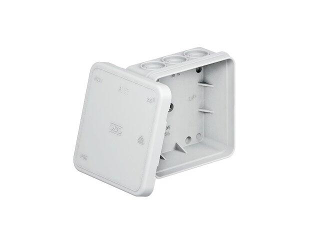 Krabica   89x85x 40 IP54 OBO 2000342 typA11VDE sivá bezhalogénová