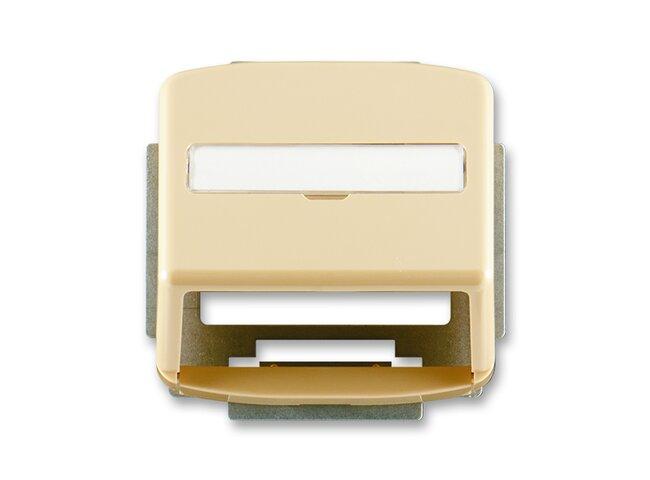 T- kryt datovej zásuvky 5014A-A100D-béžový