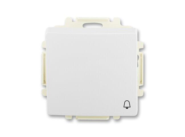 Swing- strojček č.1/0 3557G-A80343 B1 jasne biely  prístroj kryt so symbolom